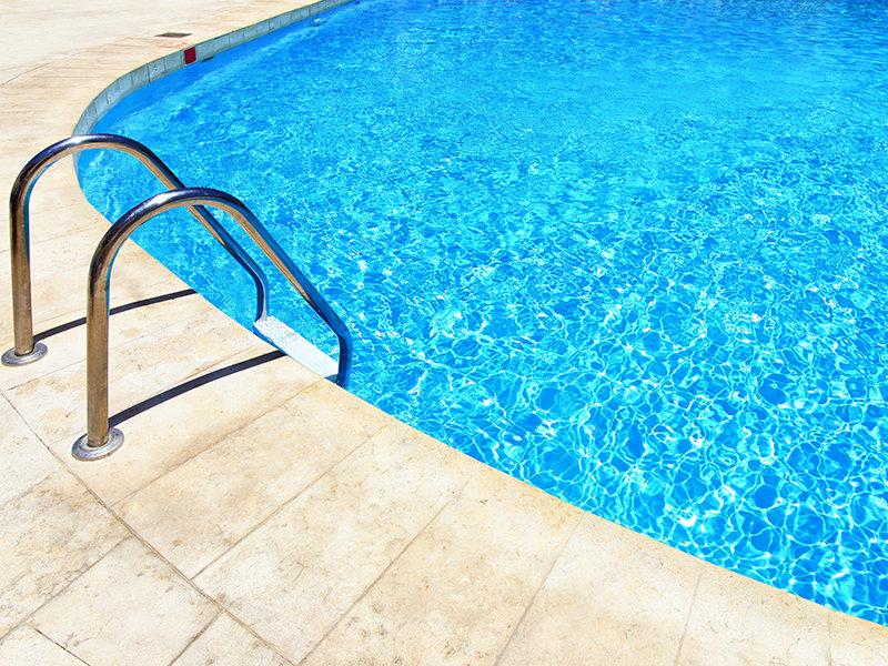 Zwembad kitten